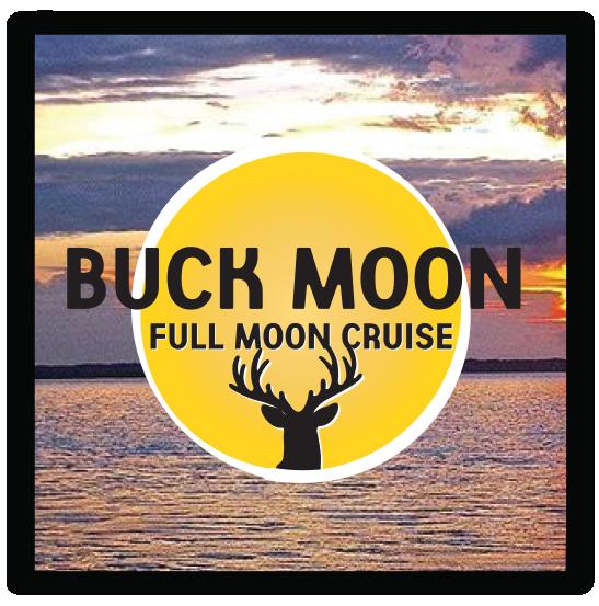 Buck moon graphic