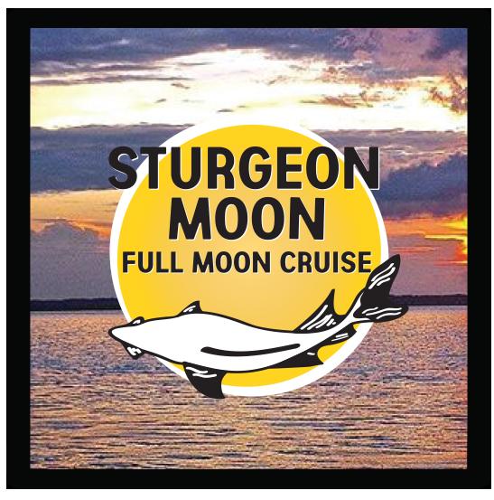 sturgeon moon graphic